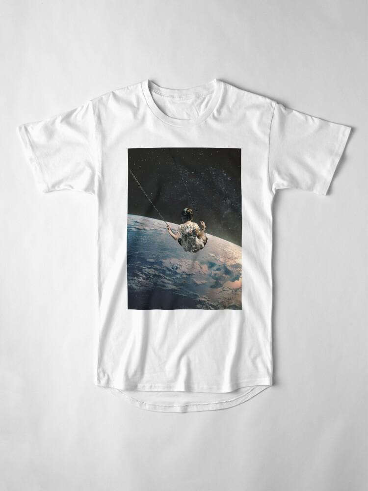 Vista alternativa de Camiseta larga oscilación