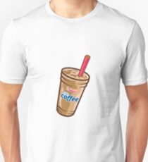 dunkin donuts iced coffee Slim Fit T-Shirt