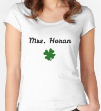 Mrs. Horan Women's Fitted Scoop T-Shirt