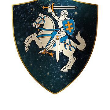 Lithuania Coat of Arms by ockshirts