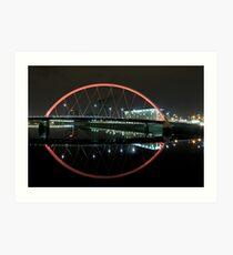 Squinty Bridge Art Print