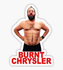 Burnt Chrysler Sticker