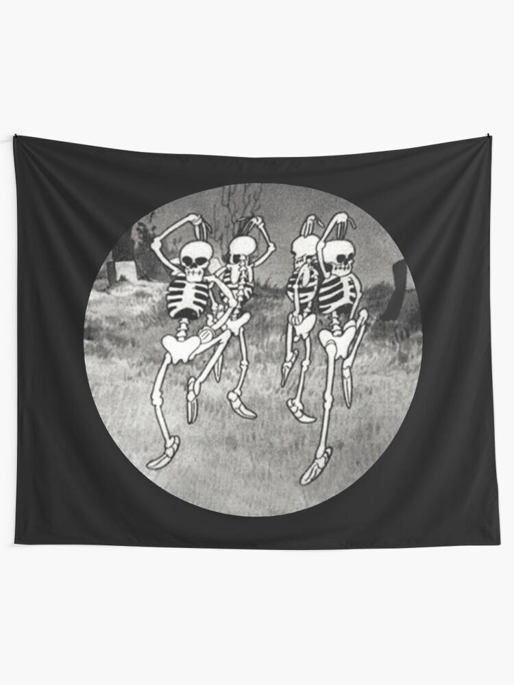 Alternate view of Dance like it's Halloween! Tapestry