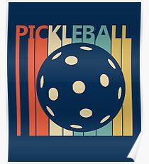 9011ddc5914d4 Vintage Retro Pickleball Poster