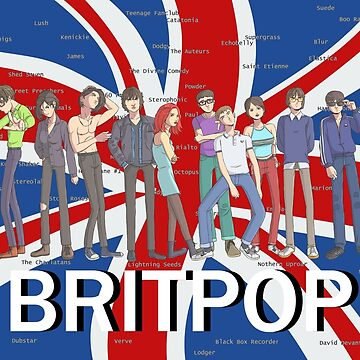 Britpop: The Animated Series by Nosek1ng