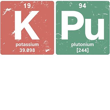 K Pu - Chemical elements 1994 24th birthday by hsco