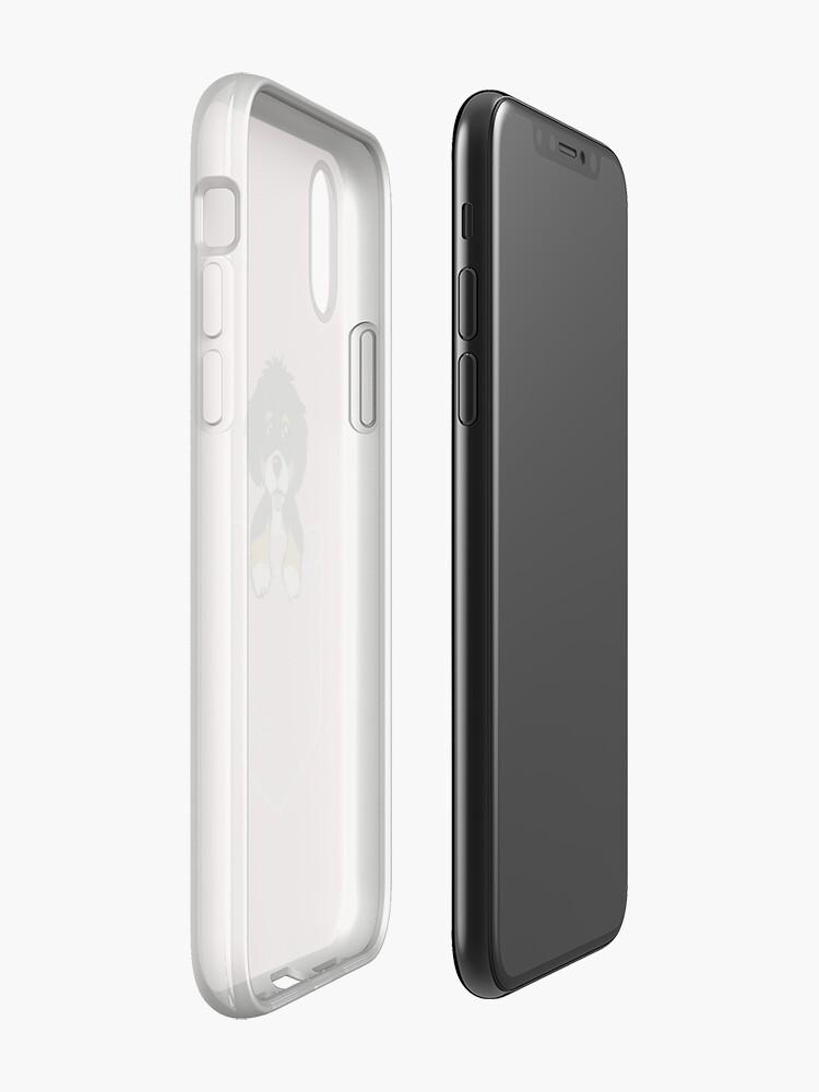 Alternative Ansicht von Bernedoodle Tasche iPhone-Hülle & Cover