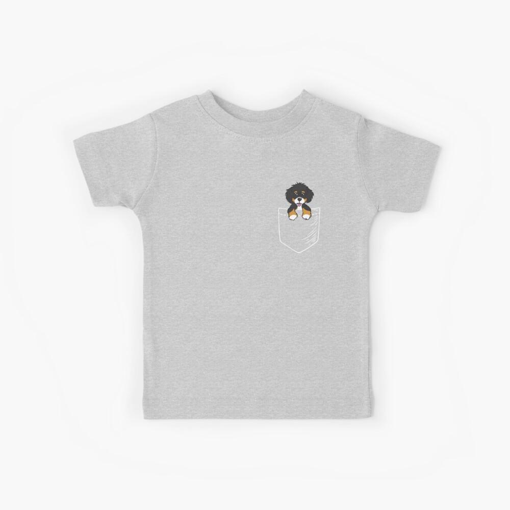 Bernedoodle Tasche Kinder T-Shirt