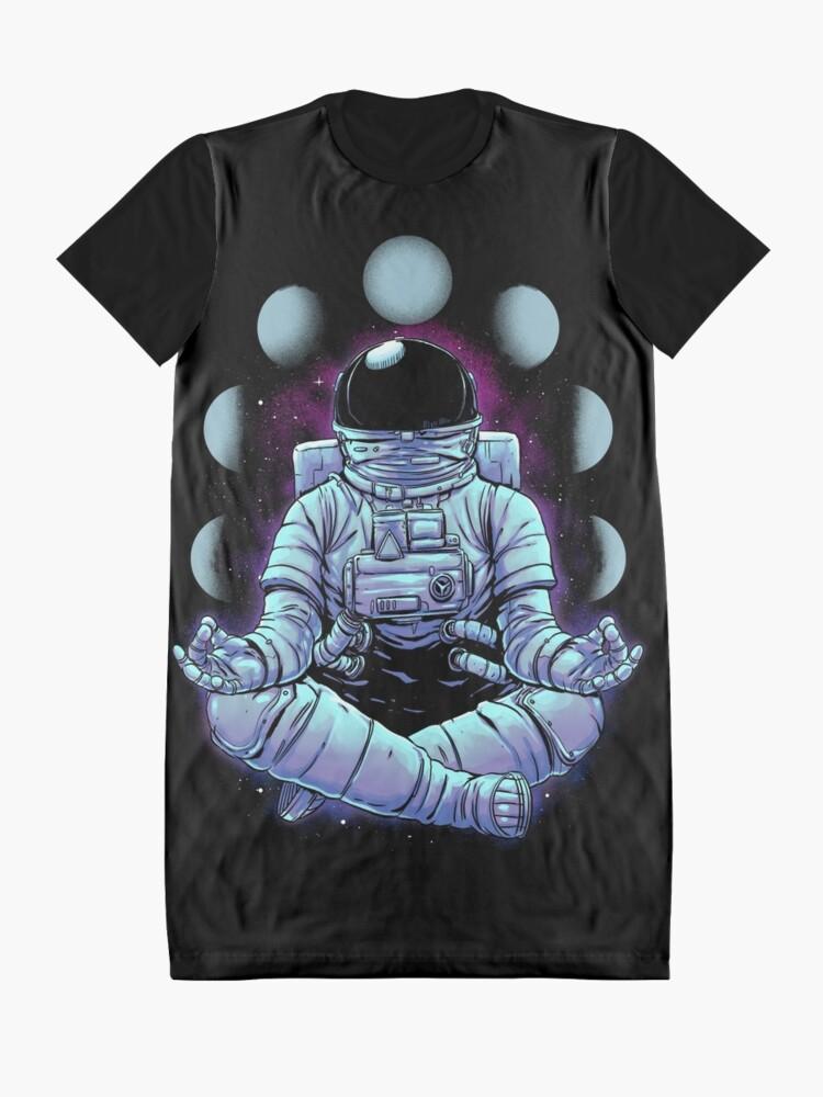 Alternate view of Meditation Graphic T-Shirt Dress
