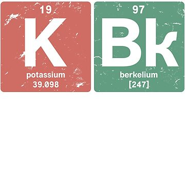 K Bk - Chemical elements 1997 21st birthday by hsco