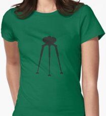 Three-Legged Alien Transport Machine Women's Fitted T-Shirt