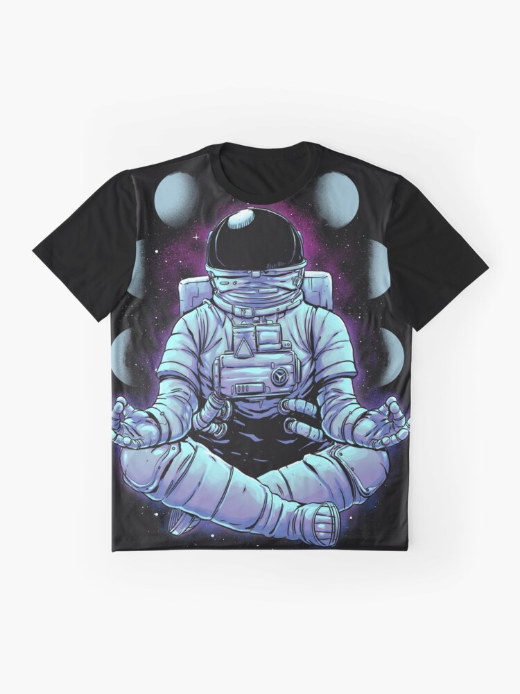 Alternate view of Meditation Graphic T-Shirt