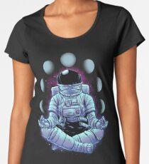Meditation Frauen Premium T-Shirts