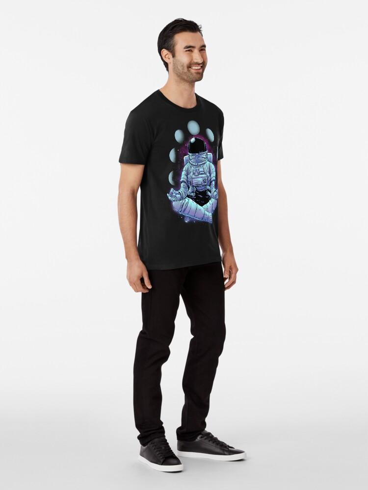 Alternate view of Meditation Premium T-Shirt