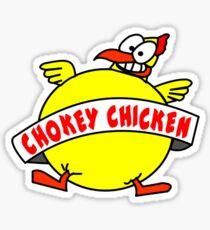 Chokey Chicken Logo Sticker