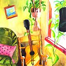 Guitar :: Tridib Ghosh :: Paint This photo Challenge by Tridib Ghosh