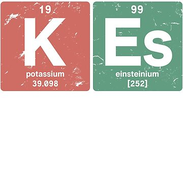 K Es - Chemical elements 1999 19th birthday by hsco