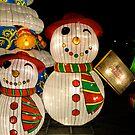 snowmen lanterns by Perggals© - Stacey Turner