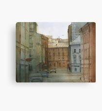 St. Petersburg' street Canvas Print