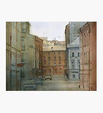 St. Petersburg' street Photographic Print