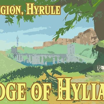 Bridge of Hylia Flat Color by Swainathan