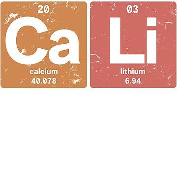 Ca Li - Chemical elements 2003 15th birthday by hsco
