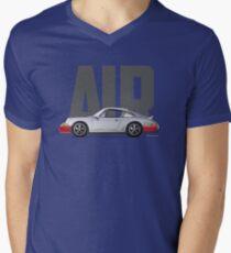 Air-Silver Men's V-Neck T-Shirt