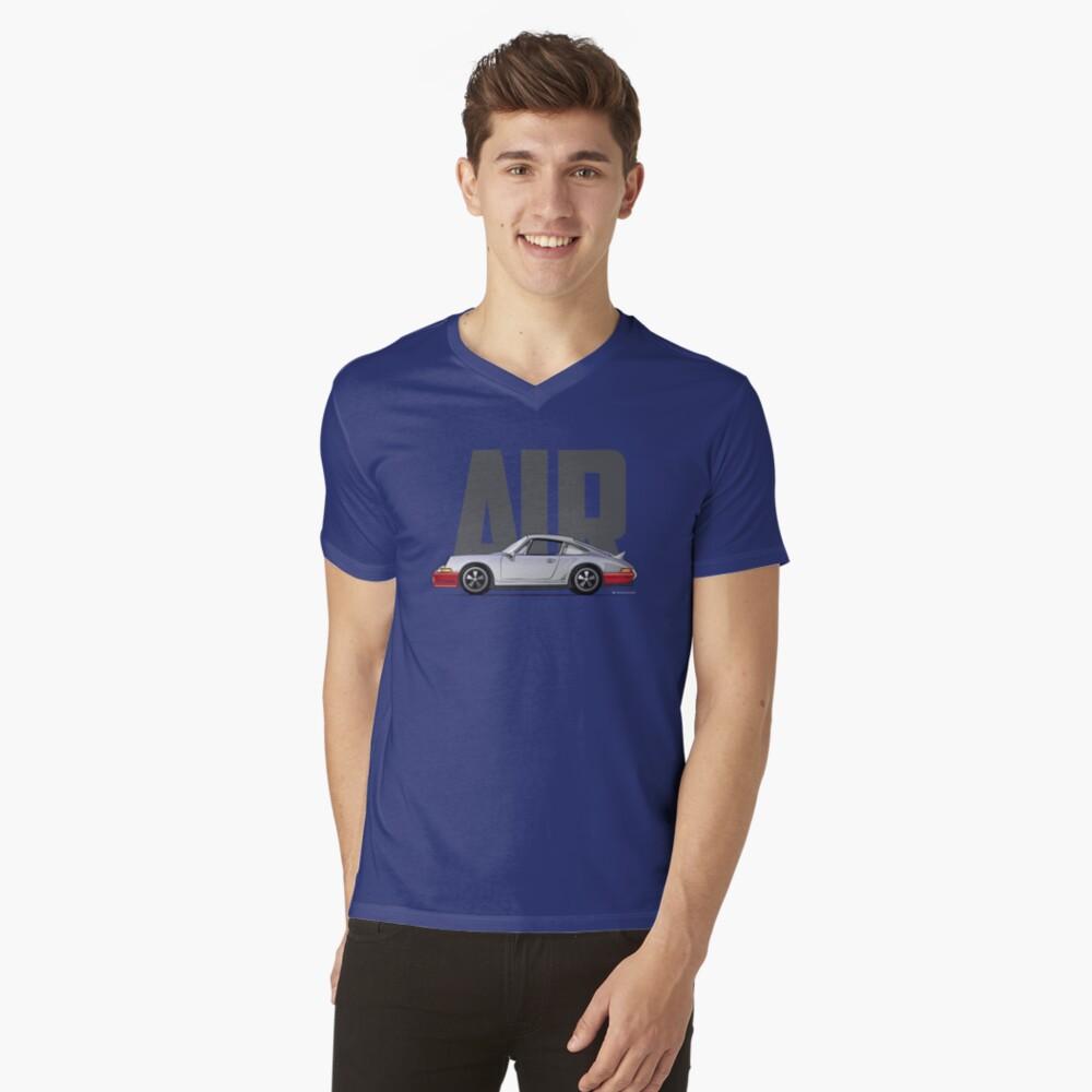 Air-Silver V-Neck T-Shirt