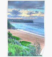 Head To Head - Mona Vale & Warriewood Beaches = The HDR Experience Poster
