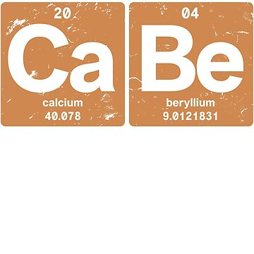 Ca Be - Chemical elements 2004 14th birthday by hsco