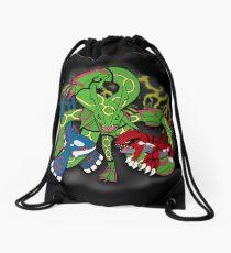 Rayquaza, Kyogre, & Groudon - Hoenn Remake Ahoy! Drawstring Bag