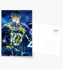 Mbappé hull team of France Postcards