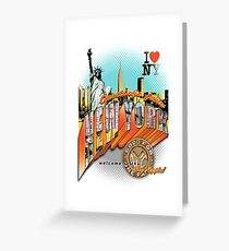 Welcome to new york greeting cards redbubble welcome to new york greeting card m4hsunfo