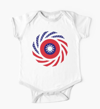 Taiwanese American Multinational Patriot Flag Series Kids Clothes