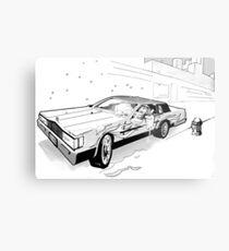 Brooklyn Cadillac Metal Print