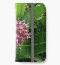 Milkweed Flowering Plant iPhone Wallet/Case/Skin