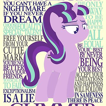 The Many Words of Starlight Glimmer by AssaultWithCake