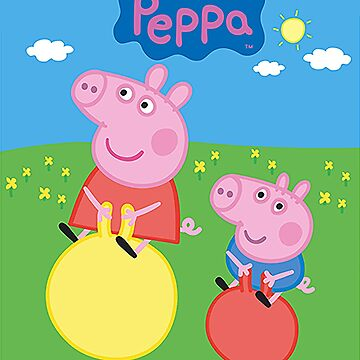 Peppa Pig by rubiohiphop
