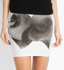 Year of the Dog - Grey Pomeranian Mini Skirt