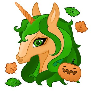 Halloween Unicorn Costume Outfit Pumpkin Fall T Shirt by Gyormoore