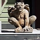 Porch Guardian by Ethna Gillespie