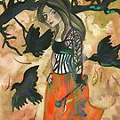 Raven Witch - Autumn Colors  by Niina Niskanen
