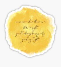 Guiding Light Sticker