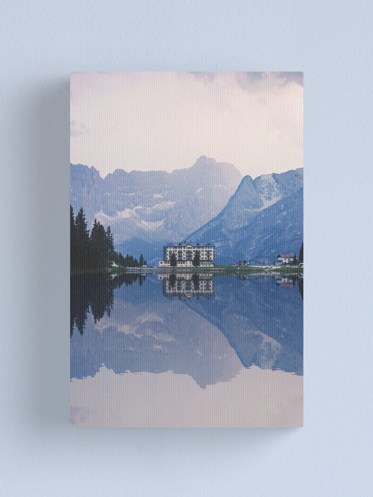 Alternate view of Grand Mountain Hotel - Dolomites Collection Canvas Print