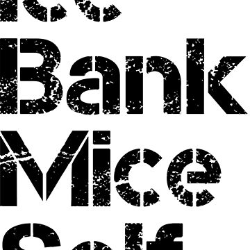 Ice, Bank, Mice, Elf by lazarusheart
