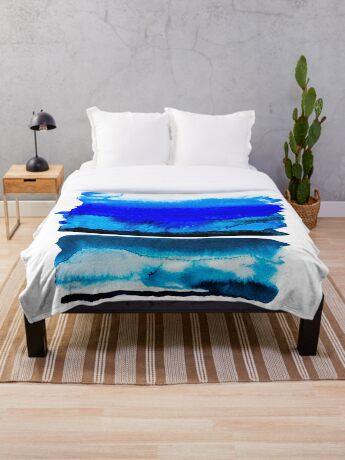 BAANTAL / Lines #3 Throw Blanket