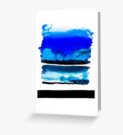 BAANTAL / Lines #3 Greeting Card