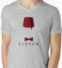 Eleven Mens V-Neck T-Shirt