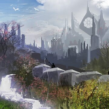 Fantasy Landscape by dave-simon