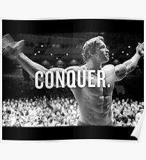 Arnold Schwarzenegger erobern Poster